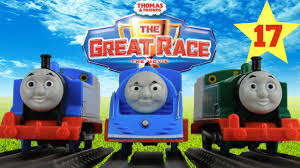 <b>THOMAS AND FRIENDS</b> THE GREAT RACE #17 | TRACKMASTER ...