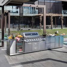 stainless steel outdoor kitchen. Gasmate Professional 6 Burner BBQ Kitchen Plus BQ1011KIT+   Grill Outdoors Stainless Steel Outdoor .
