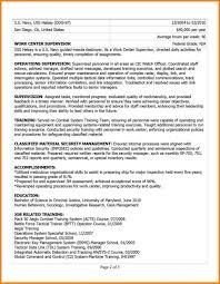 Veteran Resume Examples Venturecapitalupdate Com