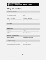 Project Request Form Template Word Project Request Form Template Word Kubre Euforic Form Information