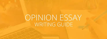how to write an opinion essay essay