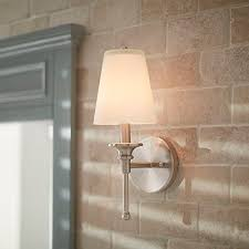 Double Sconce Bathroom Lighting Adorable Bathroom Lighting At The Home Depot