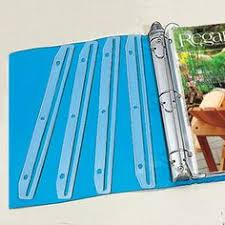 3 Hole Magazine Holder CRAFT BOOK HOLDERS Keep pattern booklets and magazines in a 100ring 11