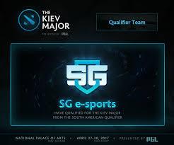 dota 2 sg esports final team to join kiev major lineup