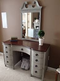 magnificent painted desk ideas with best 25 refinished vanity ideas on painted vanity