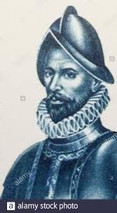 Francisco de Orellana portrait. Spanish explorer and conquistador ...