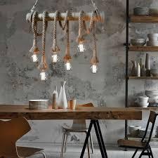 Cheerhuzz <b>Retro hemp rope wicker</b> chandelier. | L I G H T | <b>Wicker</b> ...