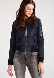 schott nyc er jacket navy women clothing jackets lightweight dark blue
