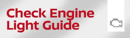 Nissan Check Engine Light Guide | Big Nissan