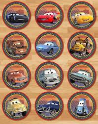 Afbeeldingsresultaat Voor Cars Cupcake Toppers Printables Bday
