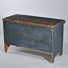 blue antique furniture. bluepainted blanket box probably new england late 18thearly 19th century primitive antiquesprimitive furnitureprimitive blue antique furniture