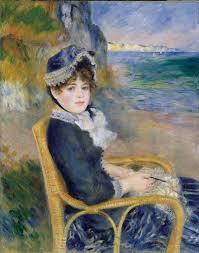 by the seas 1883 renoir