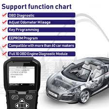 Obdprog Mt601 Obd2 Auto Car Diagnostic Tool With Key