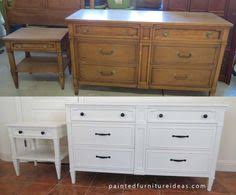 painting furniture whiteAnother Drexel Dresser Redone in White  Dresser DIY furniture