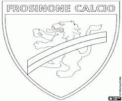 Disegni Di Bandiere E Emblemi Dil Campionato Italiano Di Calcio