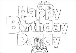 Free Printable Birthday Coloring Pages Birthday Cards Coloring Pages