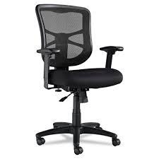 alera elusion series mesh mid back swivel tilt chair black