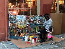 NOLA: The Artist And His Dog - Food Wine Travel