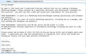 cover letter email subject when sending resume sending cover letter by email