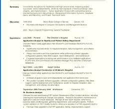 Generalume Summary Examples Photo Sample Incredible Career Customer