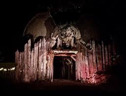 haunted house lighting ideas. Haunted Acres Facade - Halloween New England House Lighting Ideas