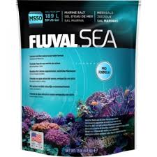 Fluval Sea Marine Reef 3 0 Spectrum Led Light Fixture Fluval Sea Marine Salt 15lbs 50 Us Gal Marine Salt