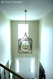 chandelier for foyer large 2 story foyer chandelier modern
