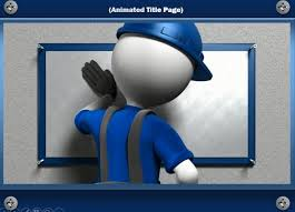 Animated Ppt Presentation Construction Template For Powerpoint With Video Animation