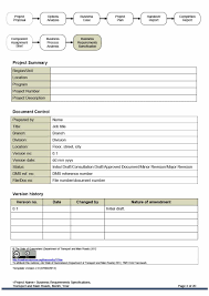 requirements document template 40 simple business requirements document templates template lab