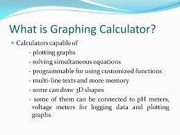 what is graphing calculator