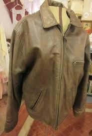 banana republic leather jacket 80 s vintage brown image 0