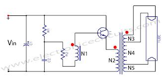 fluorescent tube light circuit electronic circuits Fluorescent Tube Light Wiring Diagram fluorescent tube light circuit diagram 12v 6v 10w 20w design fluorescent tube light wiring diagram