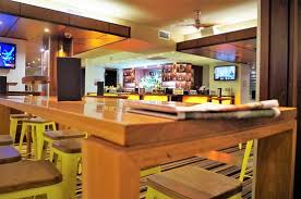restaurant table top lighting. Blue Diamond Bar And Brasserie: Cosy Restaurant Set Up With Pine Wood Table Top Lighting