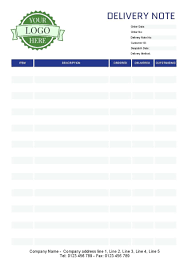 Delivery Order Sample Template Delivery Order Template Note Sample Download Delivery 2