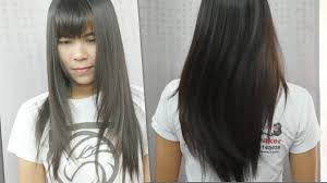 Download Video Cutting Long Hair V Shape ซอยผมยาวตวว Vไม