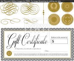 money gift certificate template