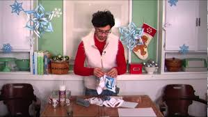 paper snowflakes with the martha stewart ornament tool youtube