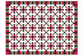 Star Crossing Quilt Pattern with Piano Key Borders &  Adamdwight.com