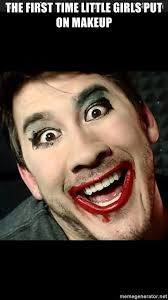 the first time little s put on makeup markiplier am i pretty meme generator
