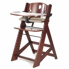 keekaroo height right high chair with tray gany