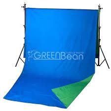 <b>GreenBean Field фон</b> тканевый <b>хромакей</b> двухсторонний сине ...