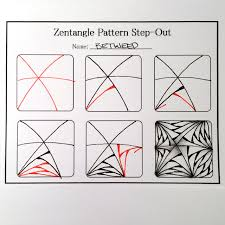 Zentangle Patterns Step By Step Extraordinary Zentangle Valentine's Heart Series Designs 48 Always Choose the