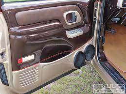 chevy truck door panels blue ebay