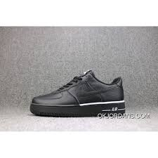 usd 87 55 227 64 nike air force 1 one black low litchi grain leather sneakers