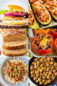 Turkey meatloaf is a favorite in our house! 20 Of The Best Ground Turkey Recipes Yellowblissroad Com