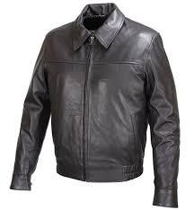mens black lambskin leather er classic fit jacket