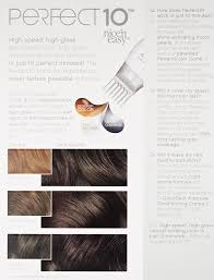 Amazon.com : Clairol Perfect 10 By Nice 'N Easy Hair Color 004 Dark Brown 1  Kit (Pack of 2) : Chemical Hair Dyes : Beauty
