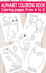 Small Picture Easy Peasy Alphabet Coloring Book ABC Coloring Pages Easy