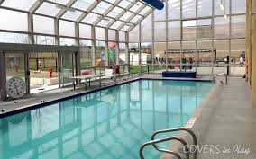 retractable pool enclosures or telescopic pool enclosures on the other hand have fixed and moving sections of the building to be opened in warmer weather
