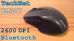 <b>TeckNet</b> BM307 <b>Bluetooth Mouse</b> 2600 DPI • Unboxing Overview ...
